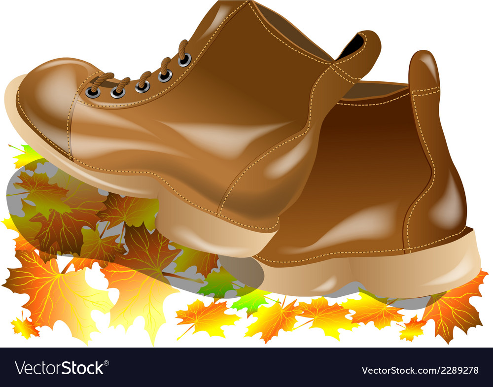Walking boots vector | Price: 1 Credit (USD $1)