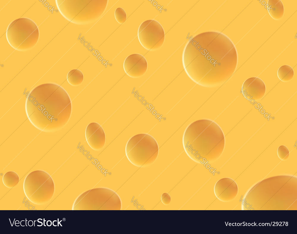 Yellow cheese texture illustration vector | Price: 1 Credit (USD $1)