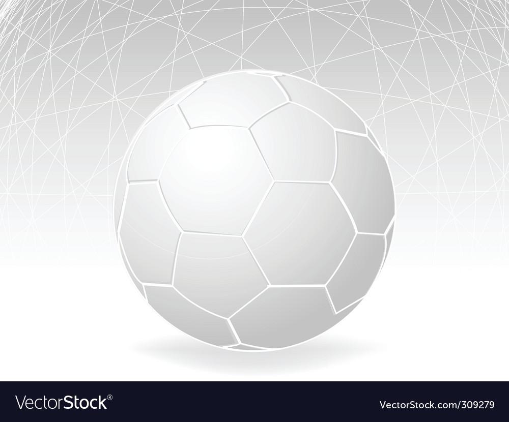 Blank football vector | Price: 1 Credit (USD $1)