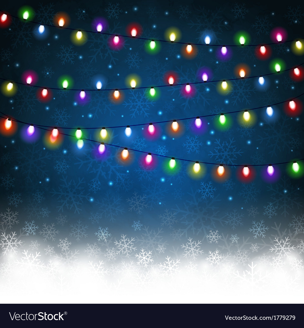 Christmas light vector | Price: 1 Credit (USD $1)