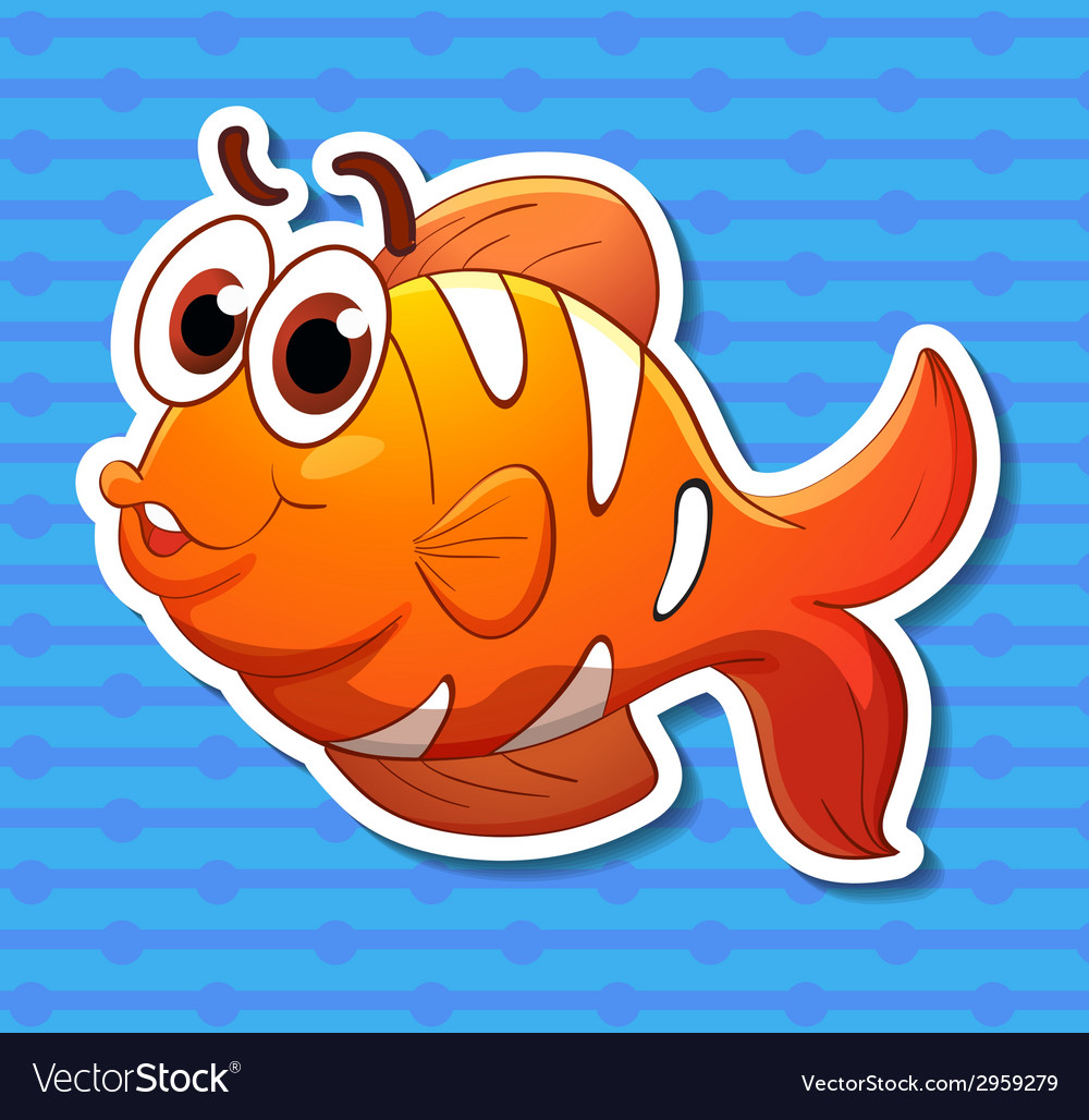 Clownfish vector | Price: 1 Credit (USD $1)