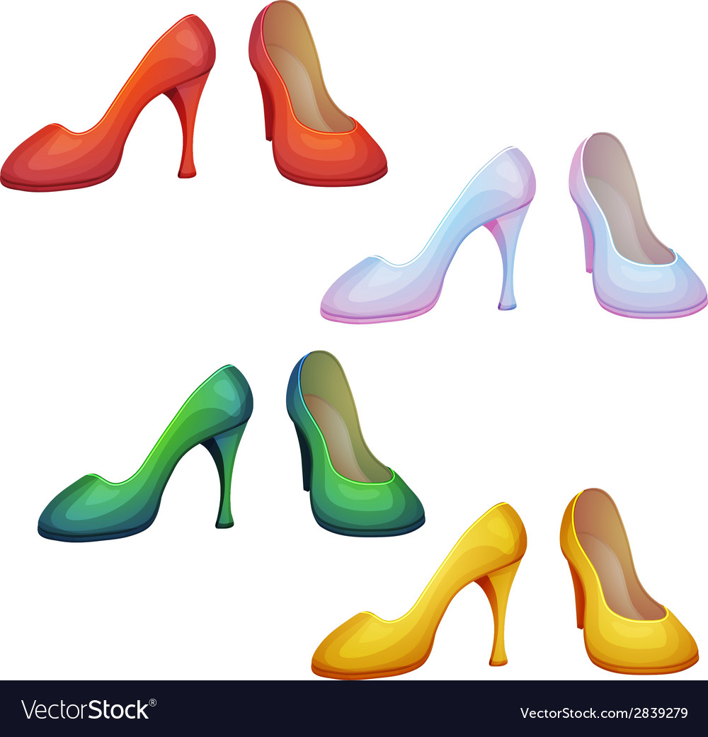 Set of shoes vector | Price: 1 Credit (USD $1)
