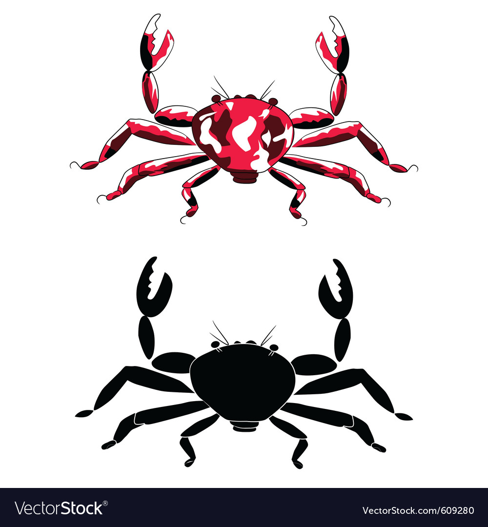 Crabs vector | Price: 1 Credit (USD $1)
