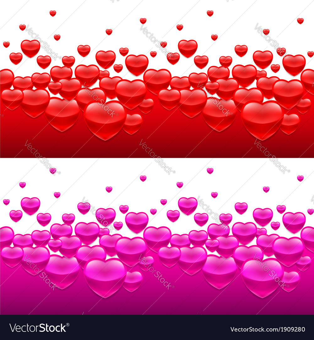 Heart backgrounds vector | Price: 1 Credit (USD $1)