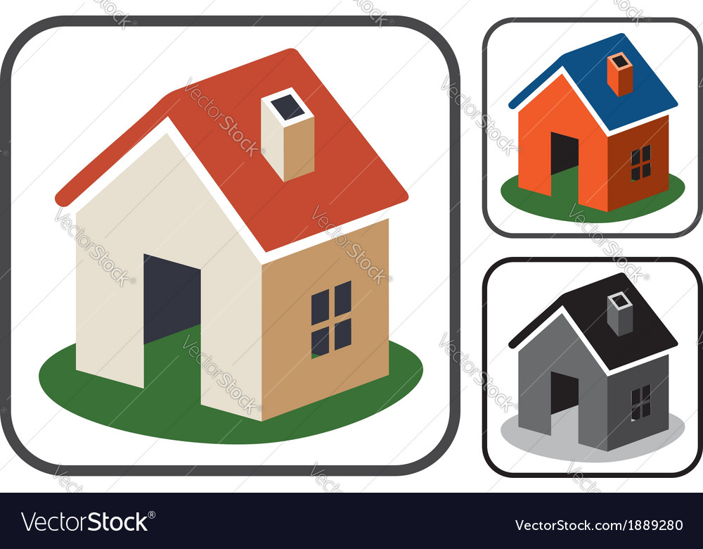 Home symbols vector | Price: 1 Credit (USD $1)