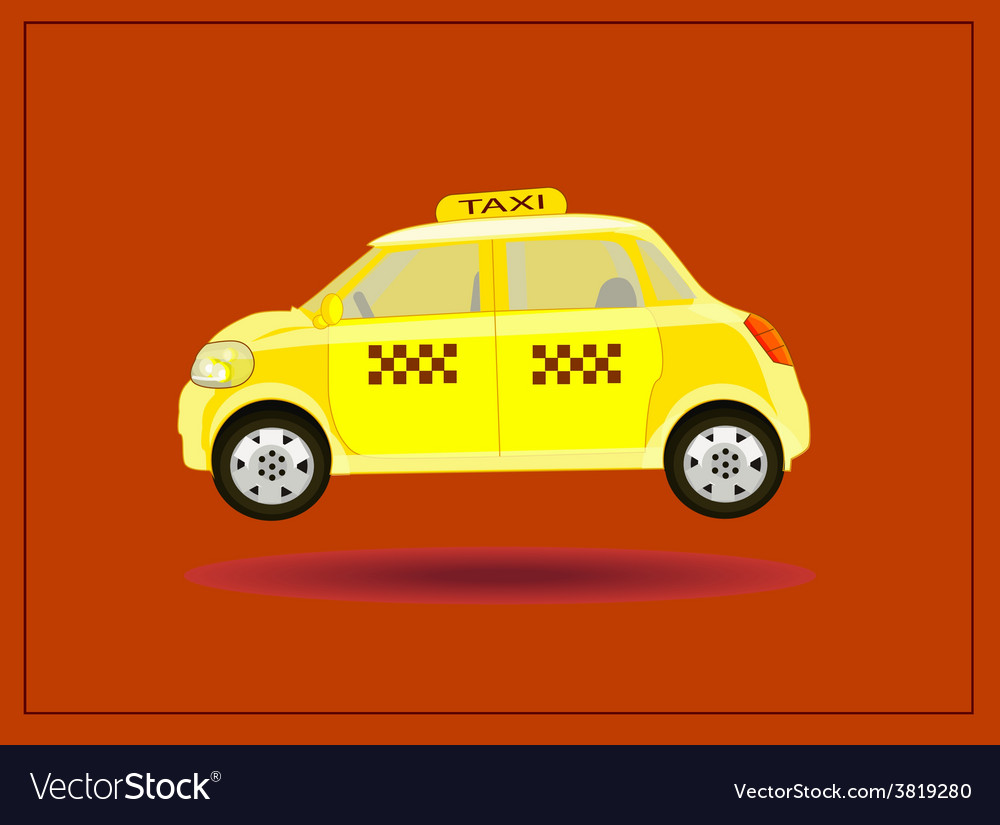 Icons taxi card advertising vector | Price: 1 Credit (USD $1)