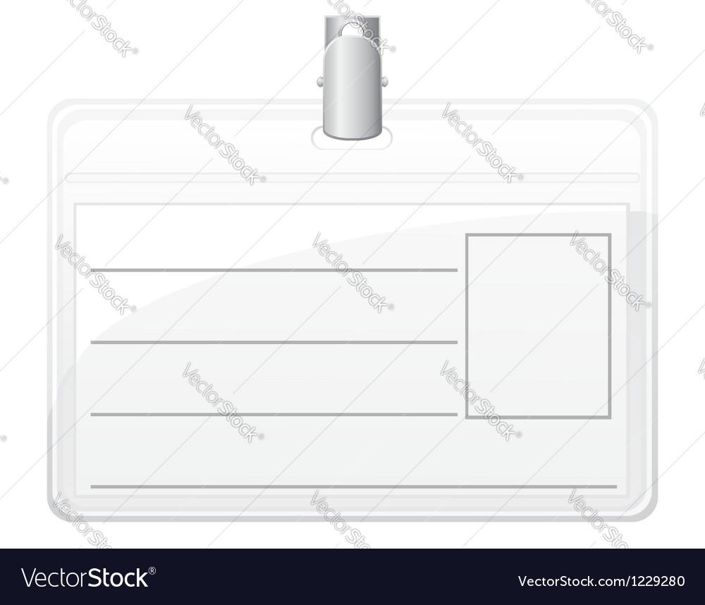 Identification card 01 vector | Price: 1 Credit (USD $1)