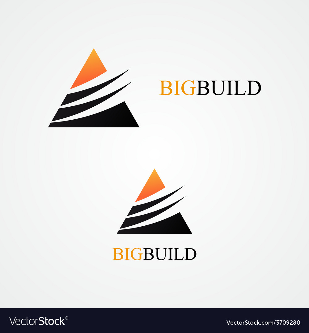 Triangle design logo vector | Price: 1 Credit (USD $1)