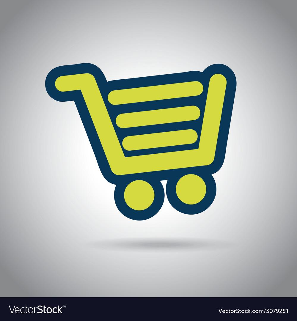 Buy on line design vector | Price: 1 Credit (USD $1)