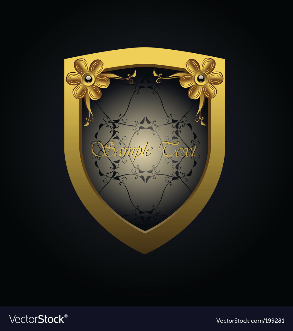 Royal badge vector | Price: 1 Credit (USD $1)