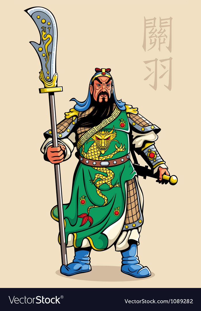 Chinese warrior vector | Price: 3 Credit (USD $3)