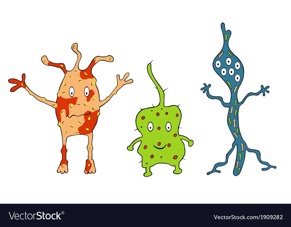 Different germs vector | Price: 1 Credit (USD $1)