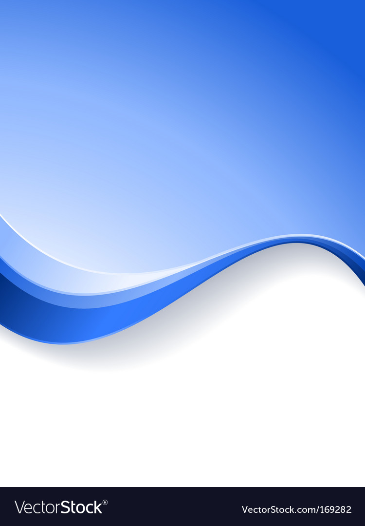 Wave background template vector | Price: 1 Credit (USD $1)