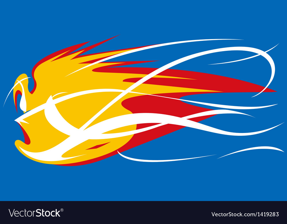 Fireball mascot vector | Price: 1 Credit (USD $1)