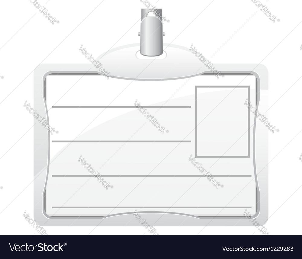 Identification card 03 vector | Price: 1 Credit (USD $1)