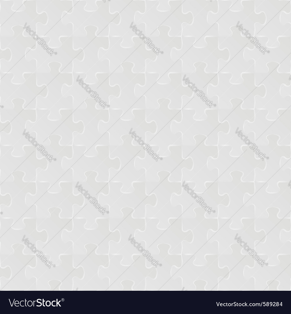 Seamless puzzle background vector | Price: 1 Credit (USD $1)