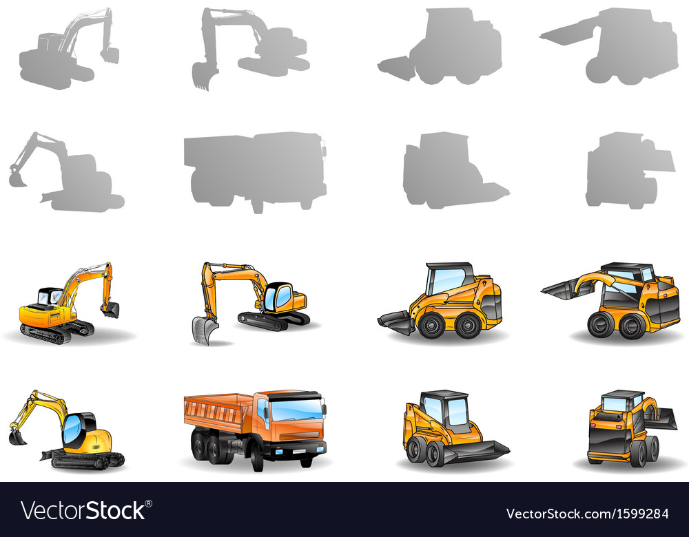 Vehicles set vector | Price: 1 Credit (USD $1)
