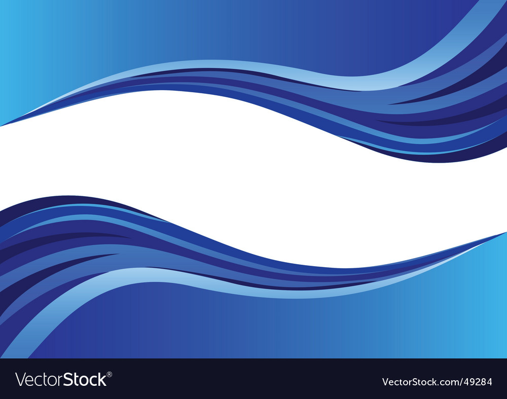 Wave background vector | Price: 1 Credit (USD $1)