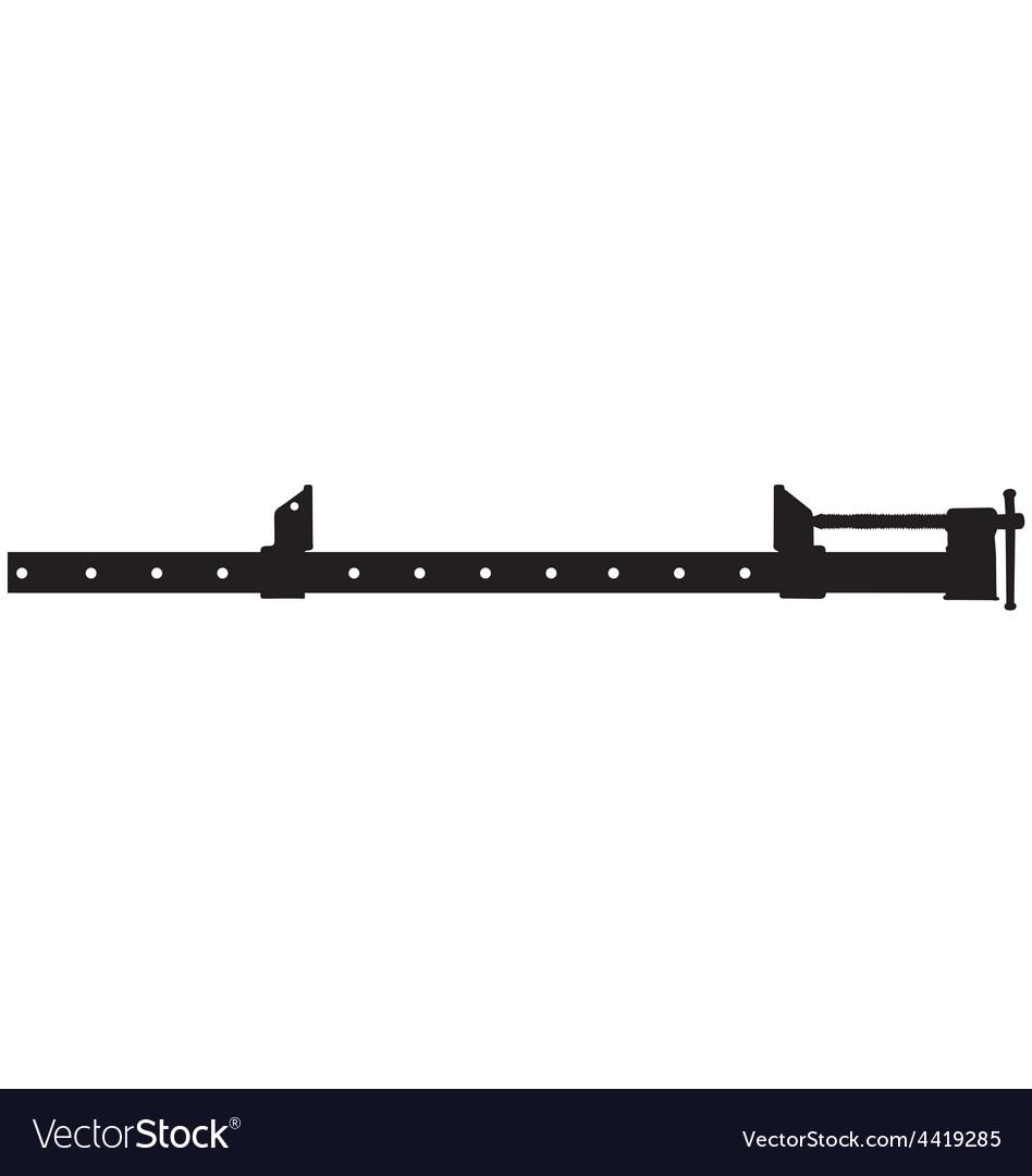 Sash clamp vector | Price: 1 Credit (USD $1)