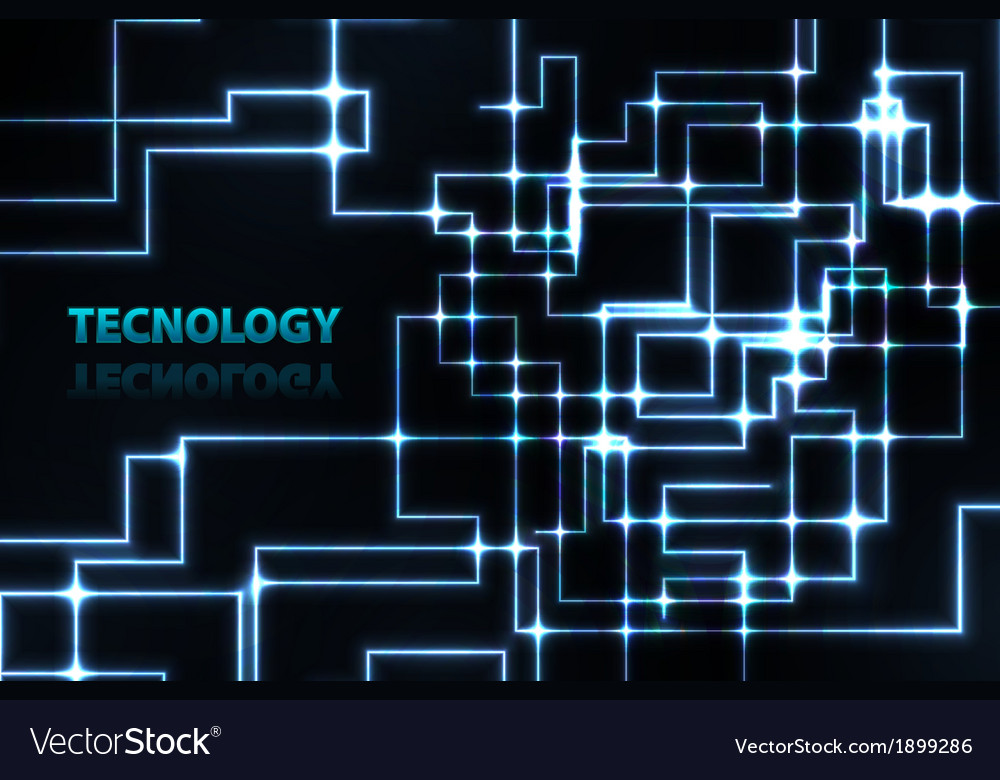 Abstract electronics blue background vector   Price: 1 Credit (USD $1)