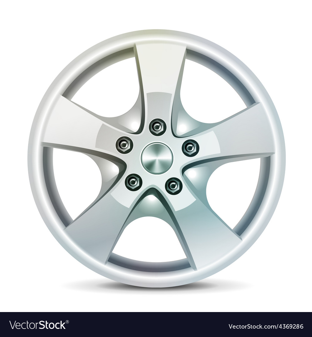 Wheel rim vector | Price: 3 Credit (USD $3)