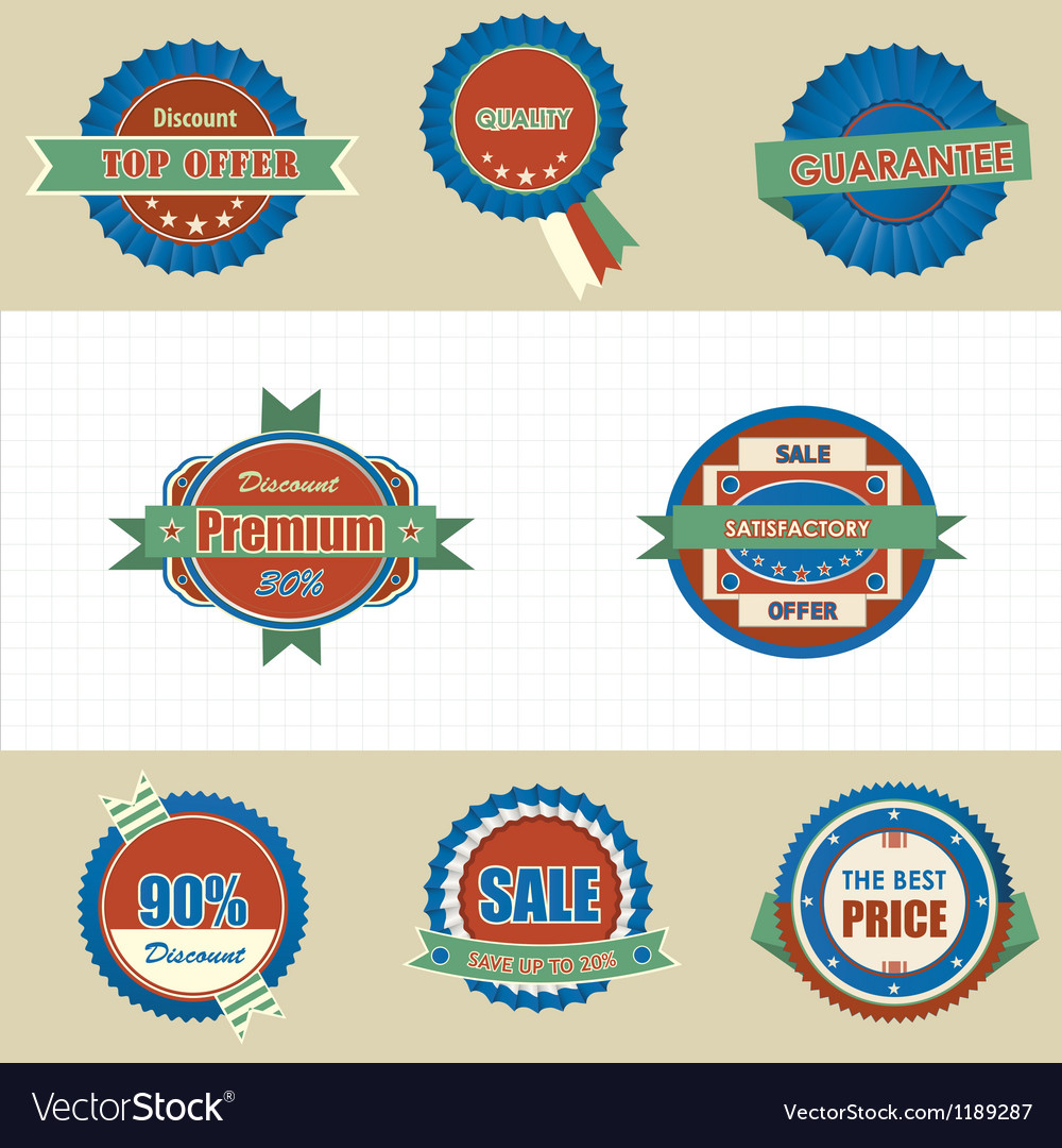 Labels icon vector | Price: 3 Credit (USD $3)
