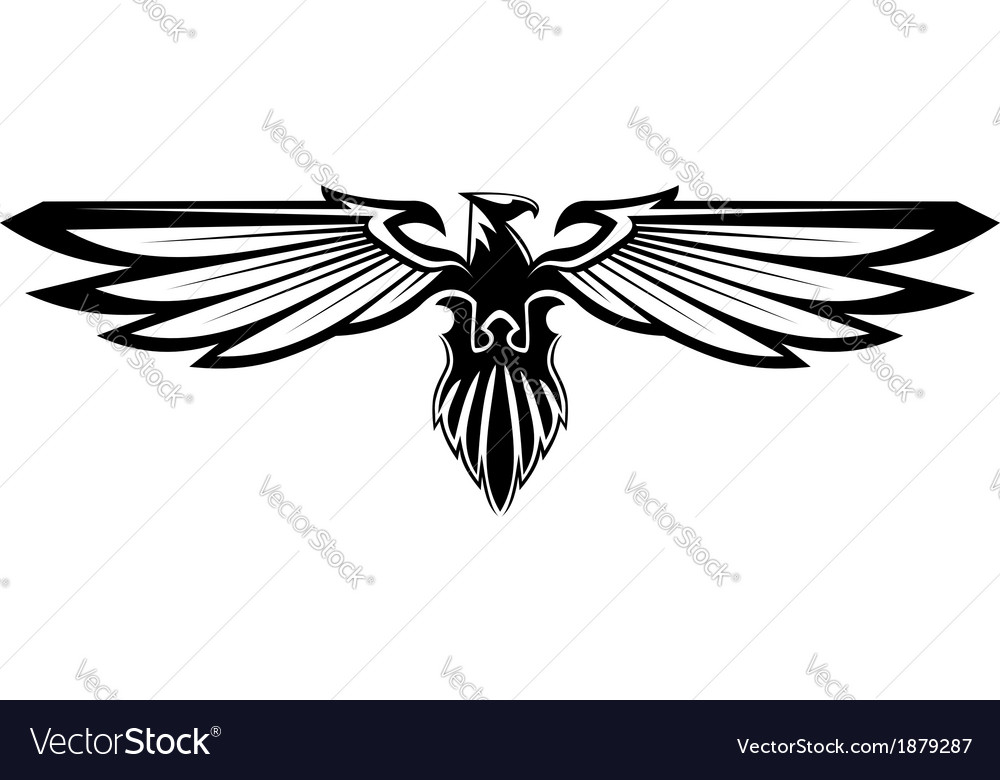 Majestic eagle vector | Price: 1 Credit (USD $1)
