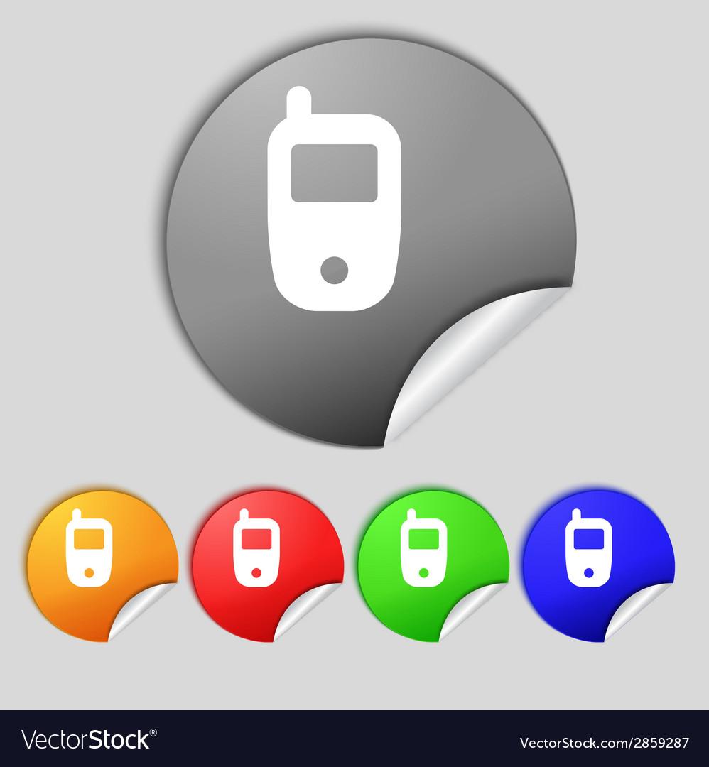 Mobile telecommunications technology symbol set vector   Price: 1 Credit (USD $1)