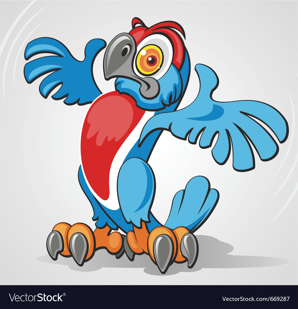 Parrot vector | Price: 3 Credit (USD $3)