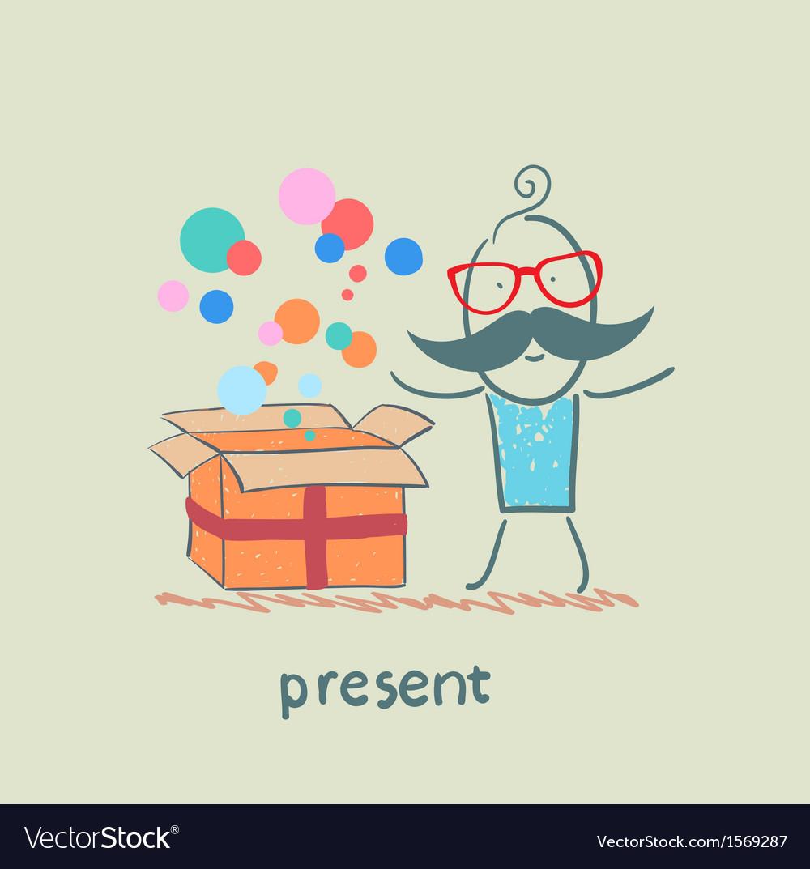 Present vector | Price: 1 Credit (USD $1)