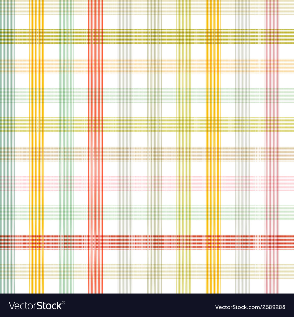 Retro square tablecloth seamless pattern vector | Price: 1 Credit (USD $1)