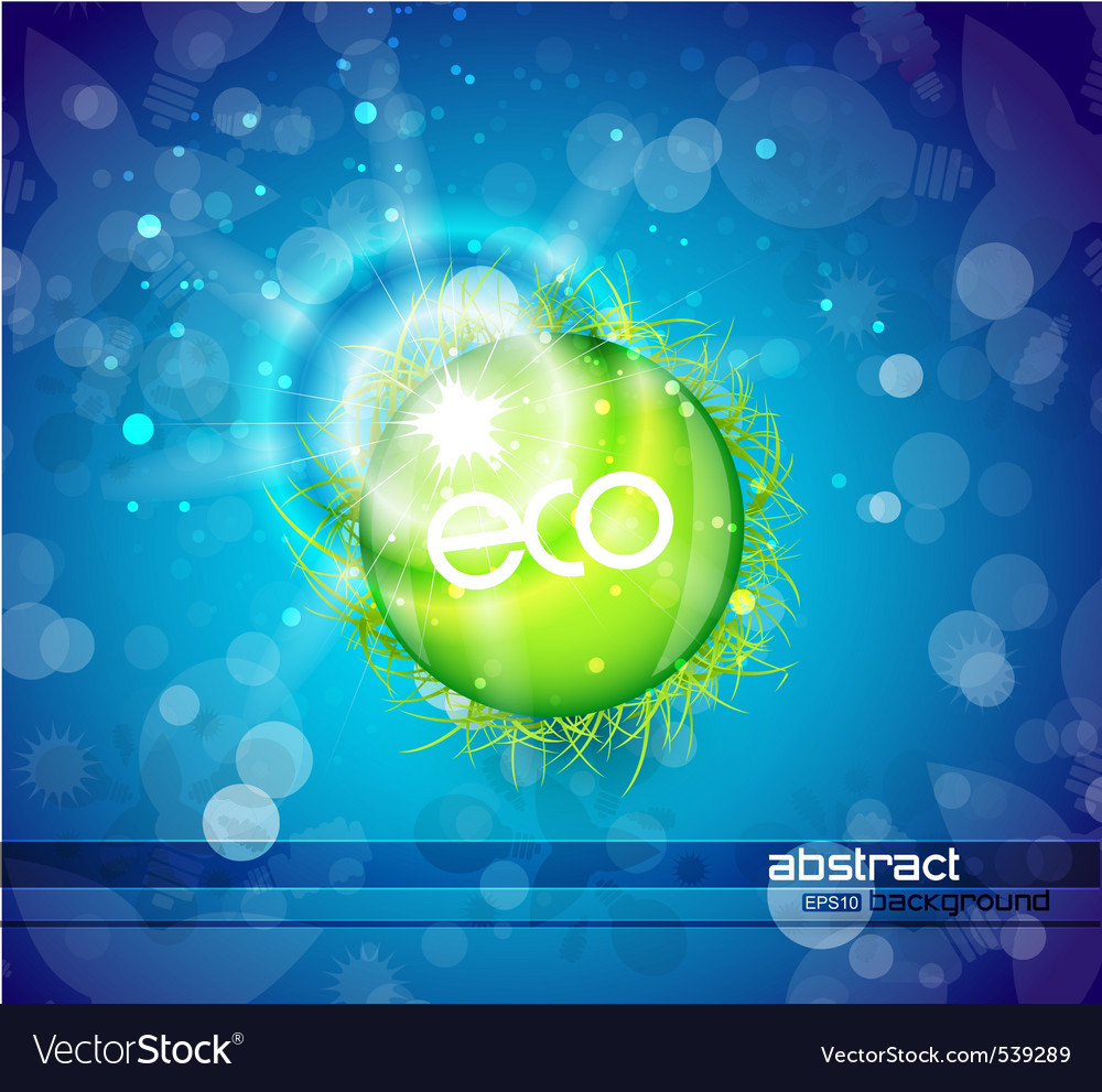 Ecoworld vector | Price: 1 Credit (USD $1)
