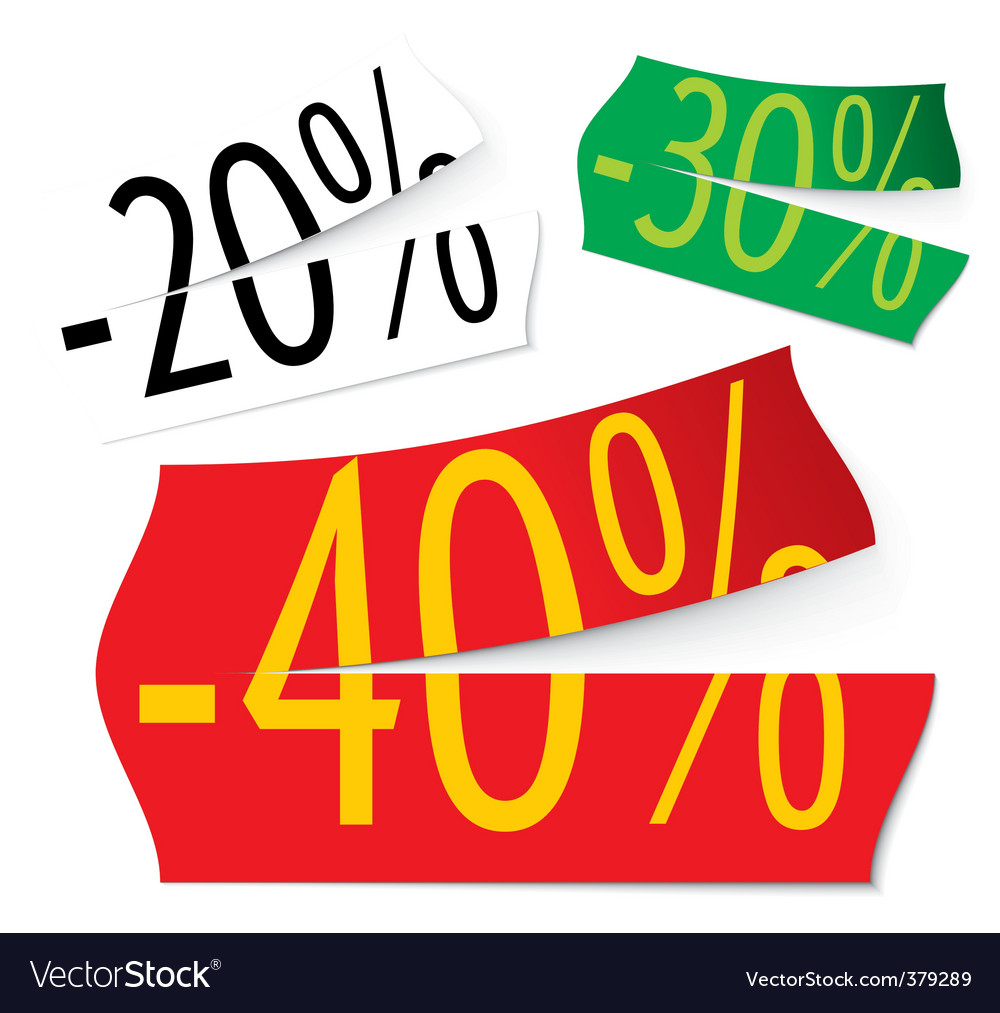 Price stickers vector | Price: 1 Credit (USD $1)
