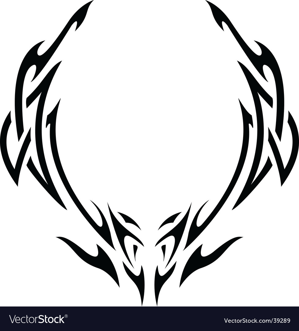 Tribal vector | Price: 1 Credit (USD $1)