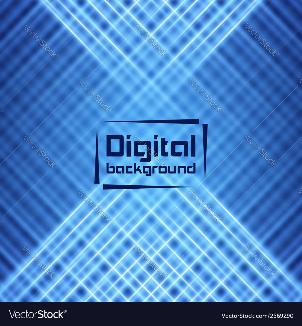 Abstract digital background vector | Price: 1 Credit (USD $1)