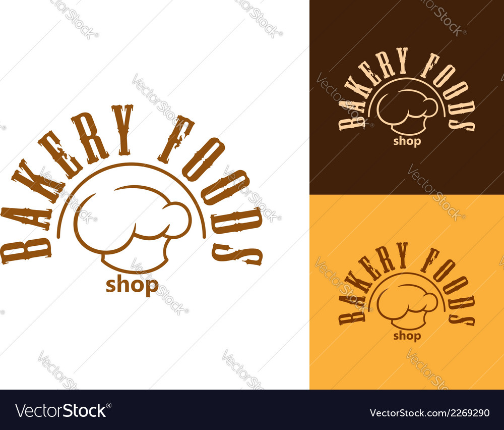 Bakery shop emblem or label vector | Price: 1 Credit (USD $1)