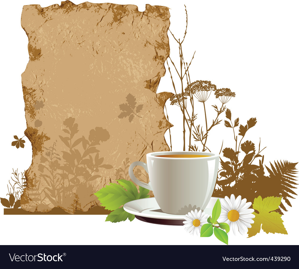 Cup with tea vector | Price: 3 Credit (USD $3)