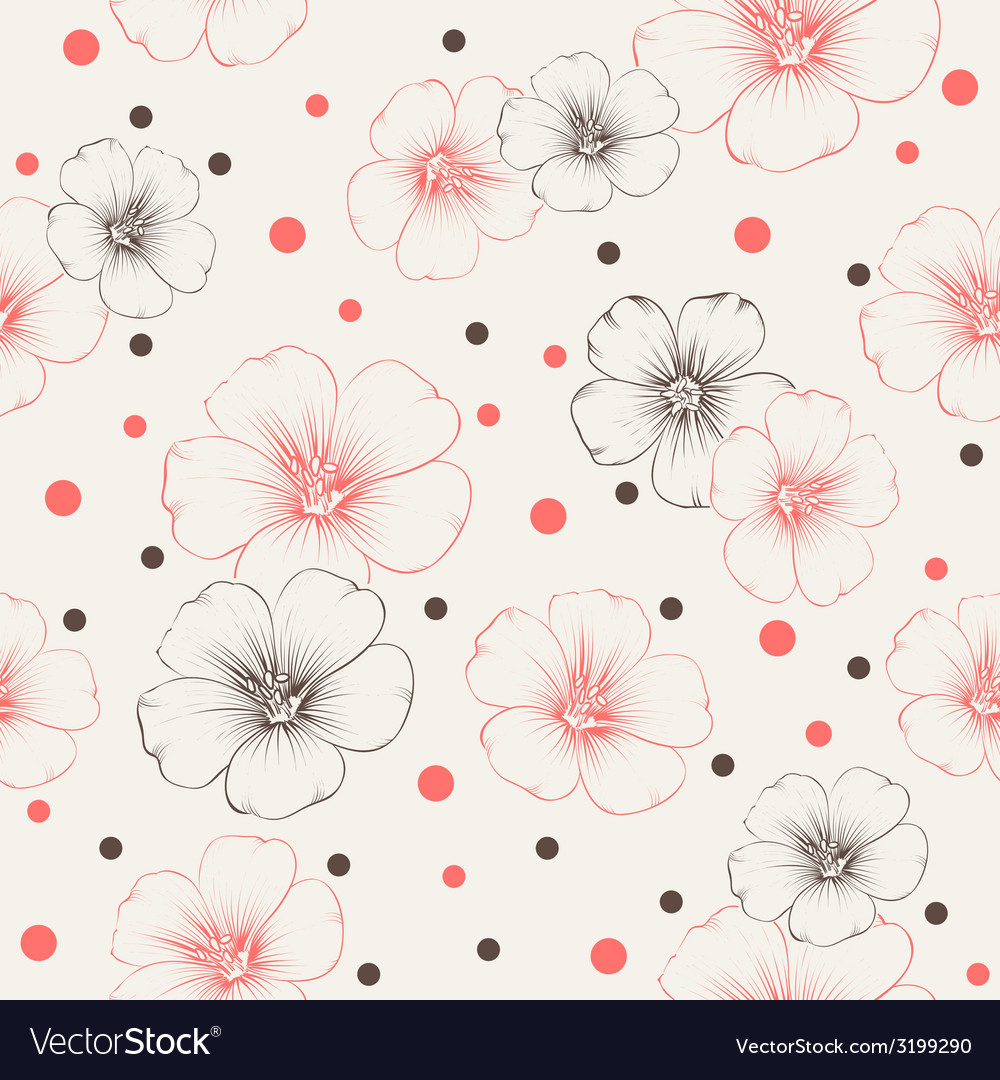 Linum pattern vector | Price: 1 Credit (USD $1)
