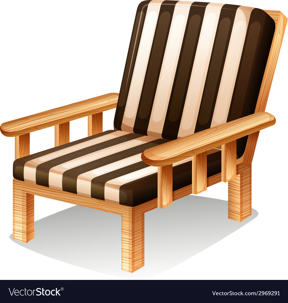 A relaxing chair furniture vector | Price: 1 Credit (USD $1)
