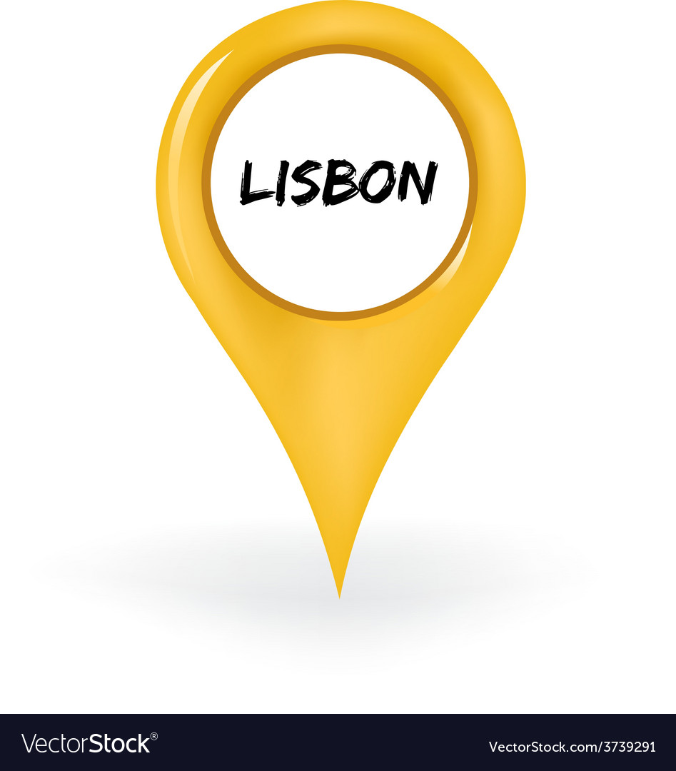 Location lisbon vector | Price: 1 Credit (USD $1)