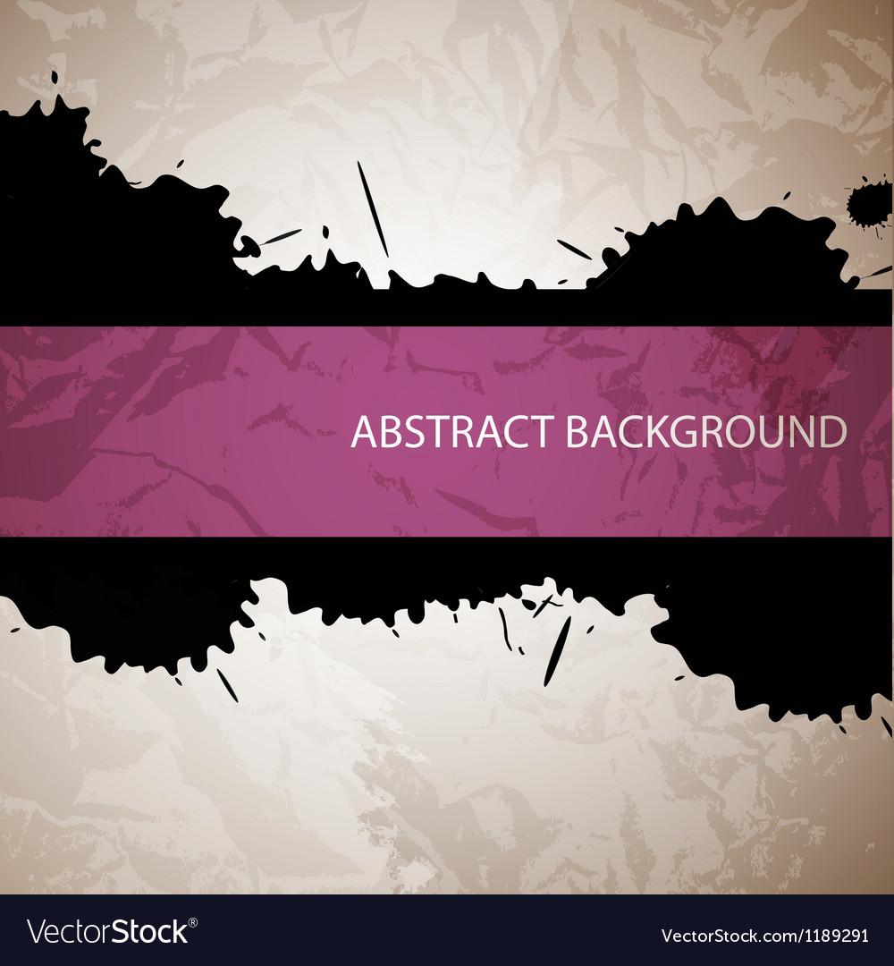 Splash abstract background vector | Price: 1 Credit (USD $1)