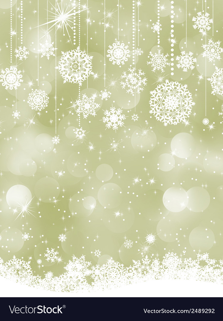 Elegant new year and cristmas card template eps 8 vector | Price: 1 Credit (USD $1)