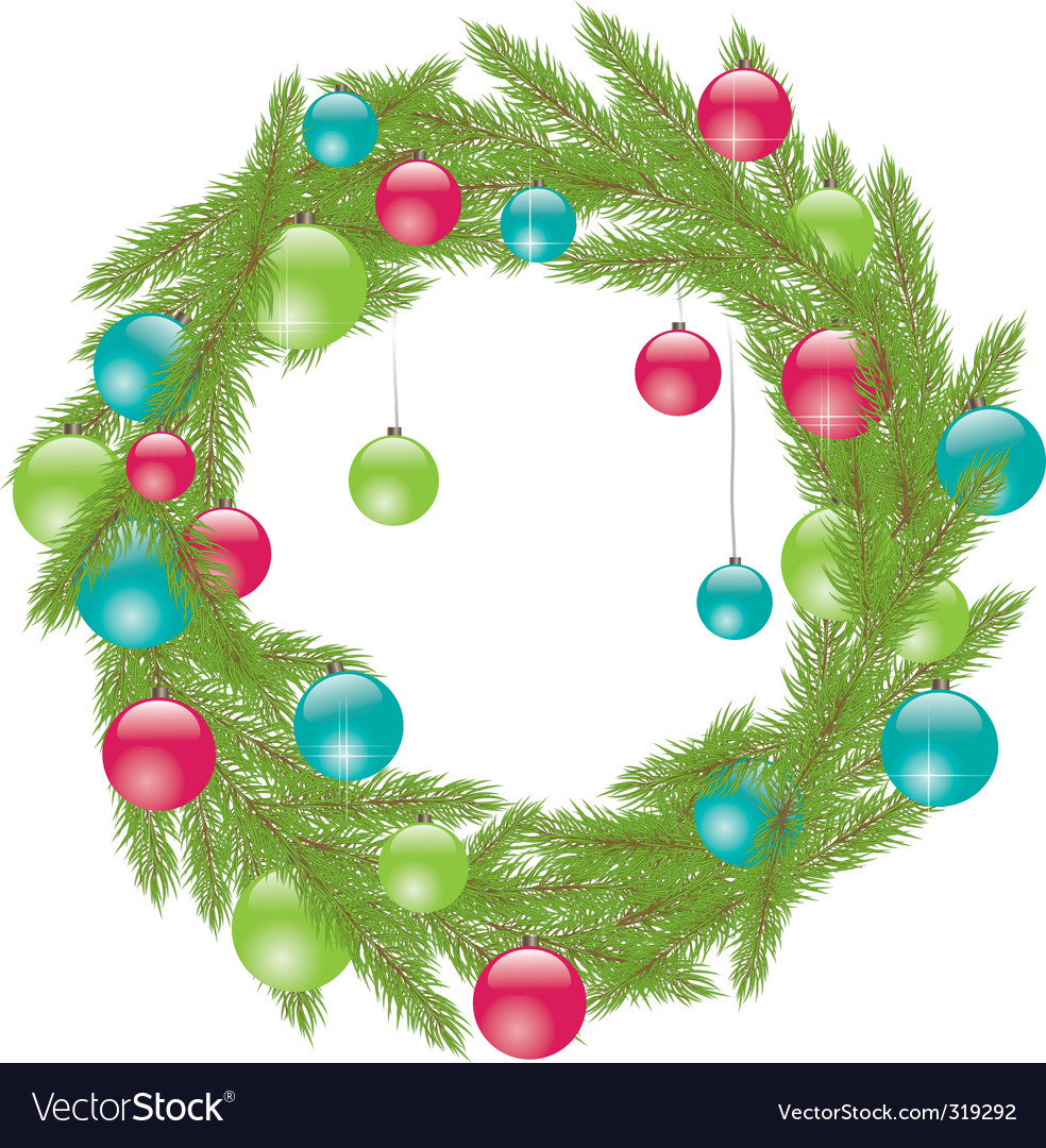 Mas fur tree vector illustration vector | Price: 1 Credit (USD $1)