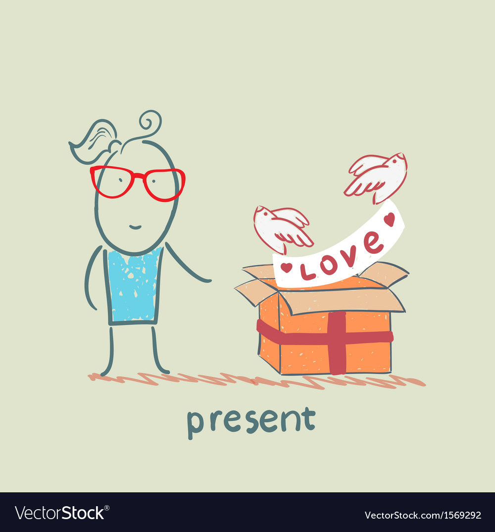 Present vector | Price: 1 Credit (USD $1)