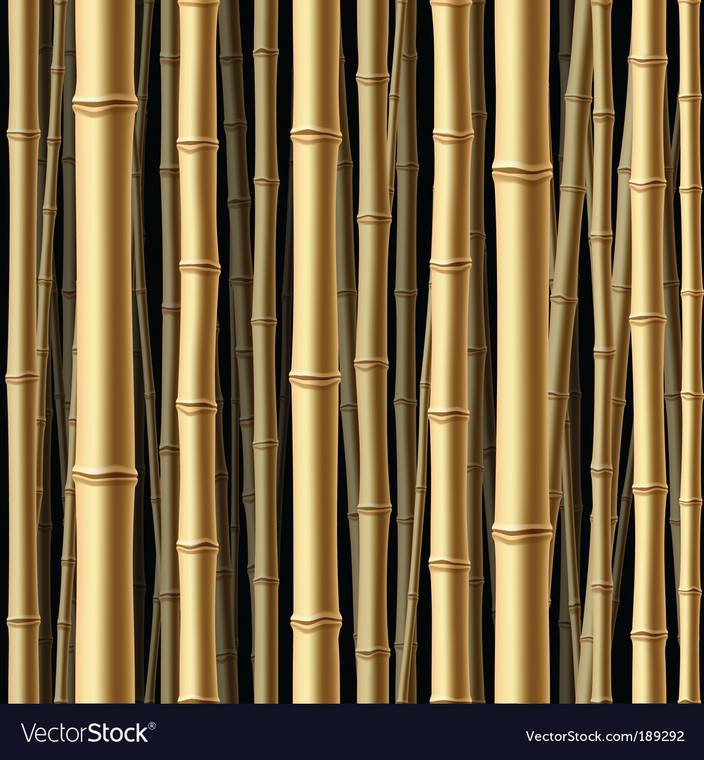 Seamless bamboo forest background vector | Price: 1 Credit (USD $1)