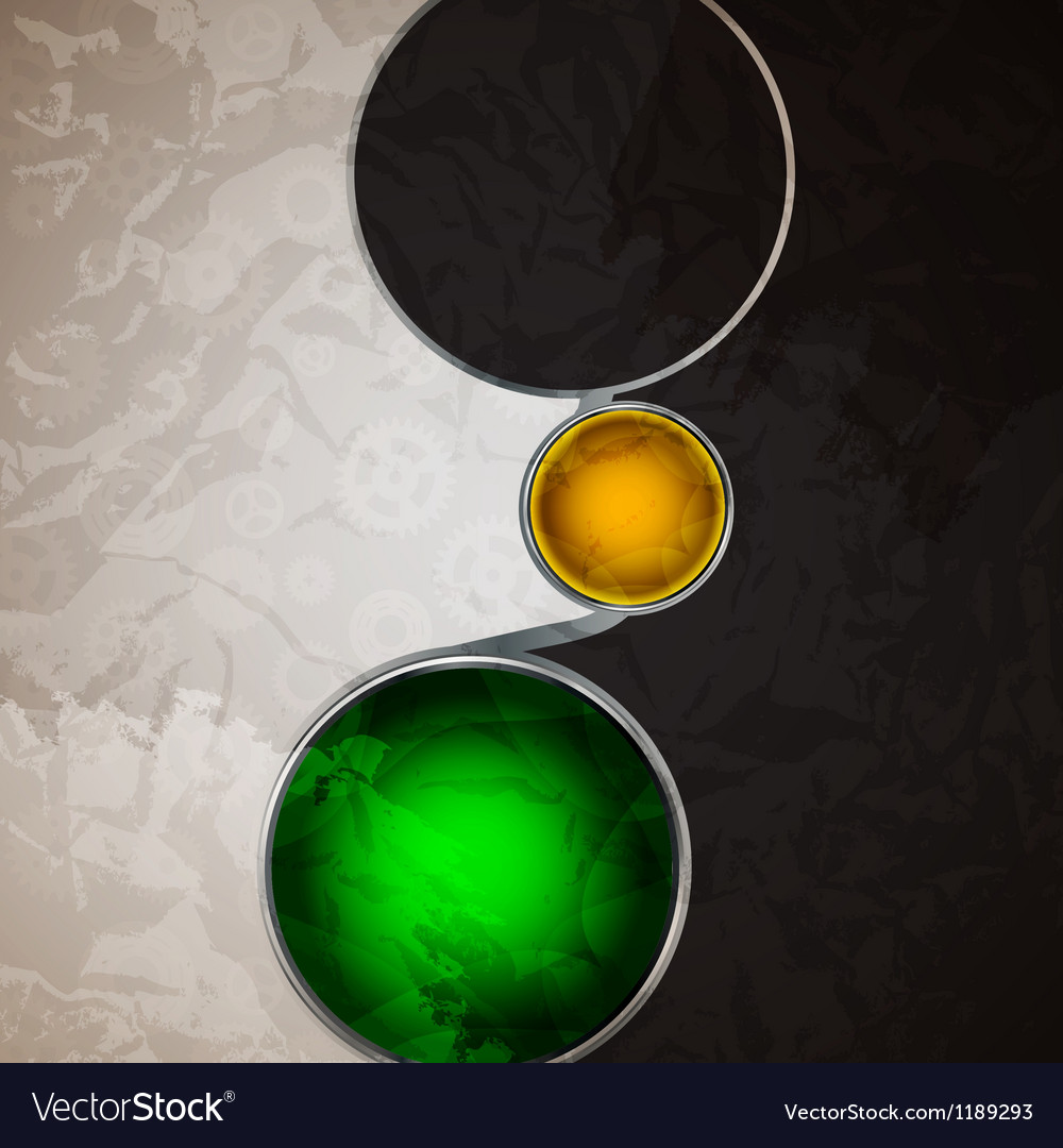 Abstract background with glass balls as speech vector | Price: 1 Credit (USD $1)