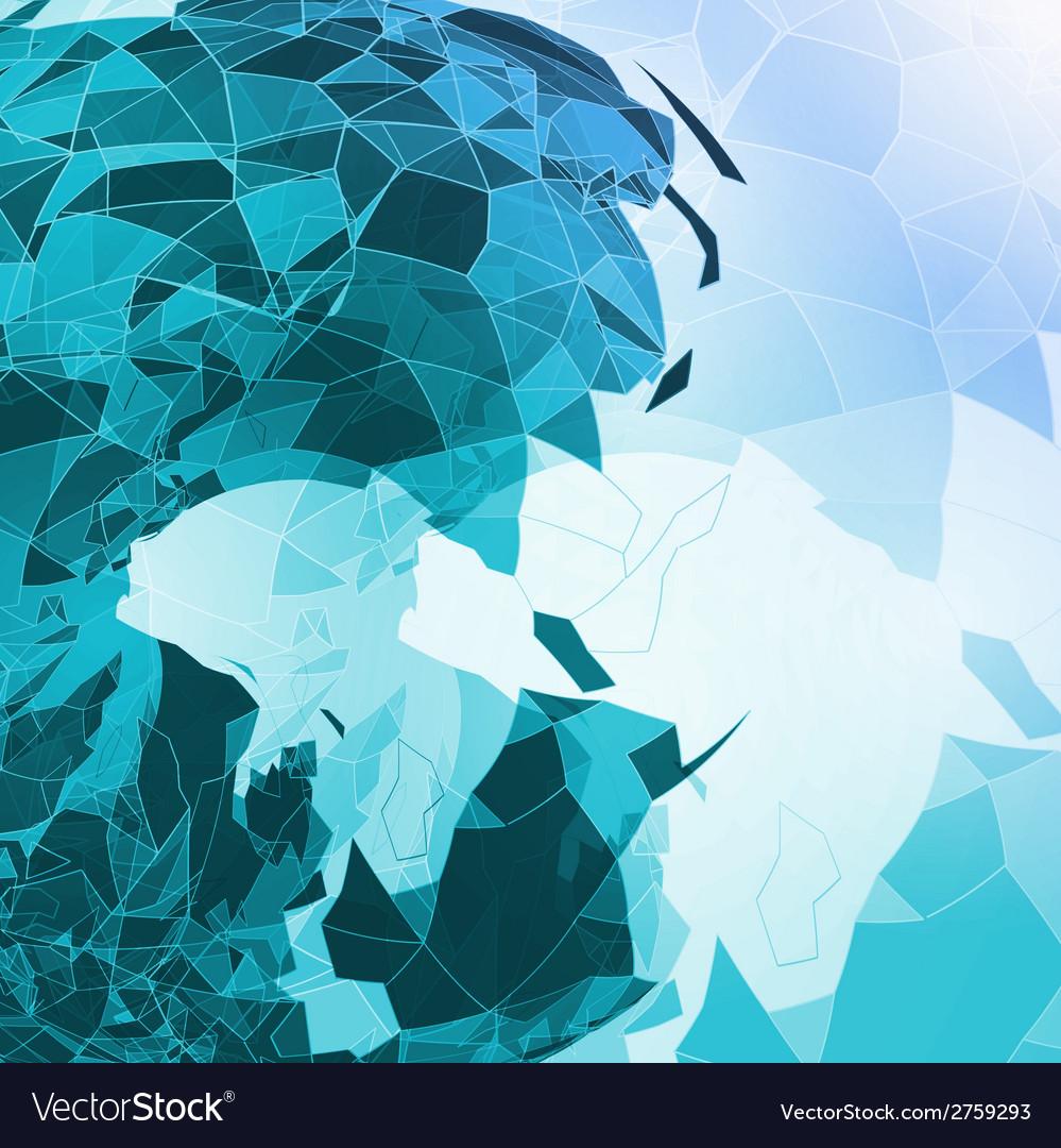 Abstract geometric vector | Price: 1 Credit (USD $1)