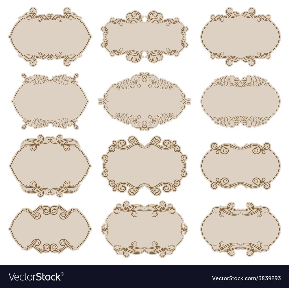 Decorative frame vector | Price: 3 Credit (USD $3)