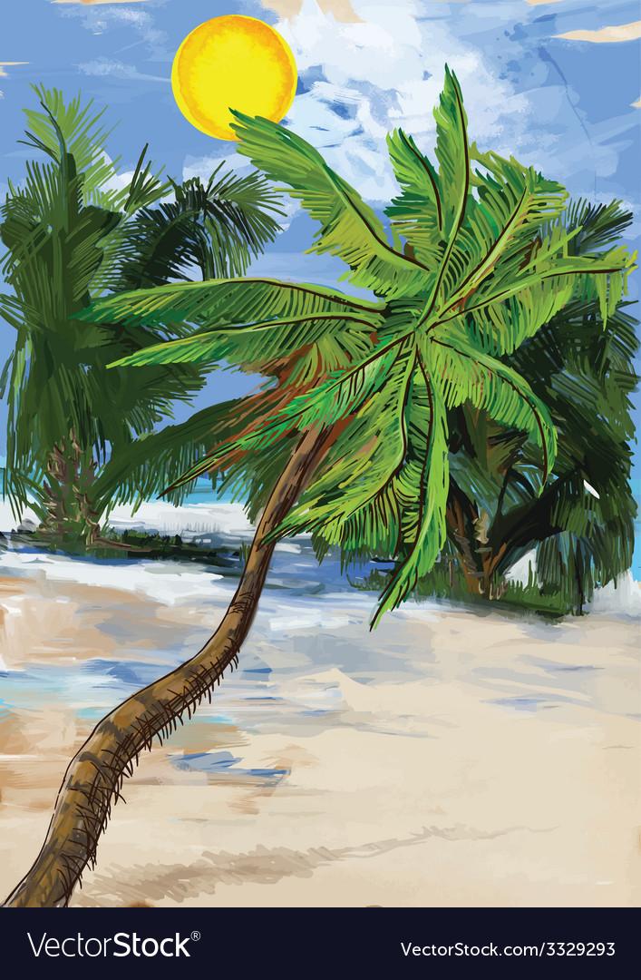 Palms vector   Price: 1 Credit (USD $1)