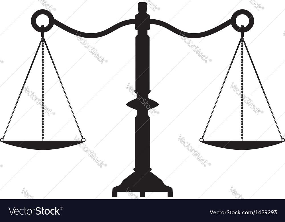 Scales vector | Price: 1 Credit (USD $1)
